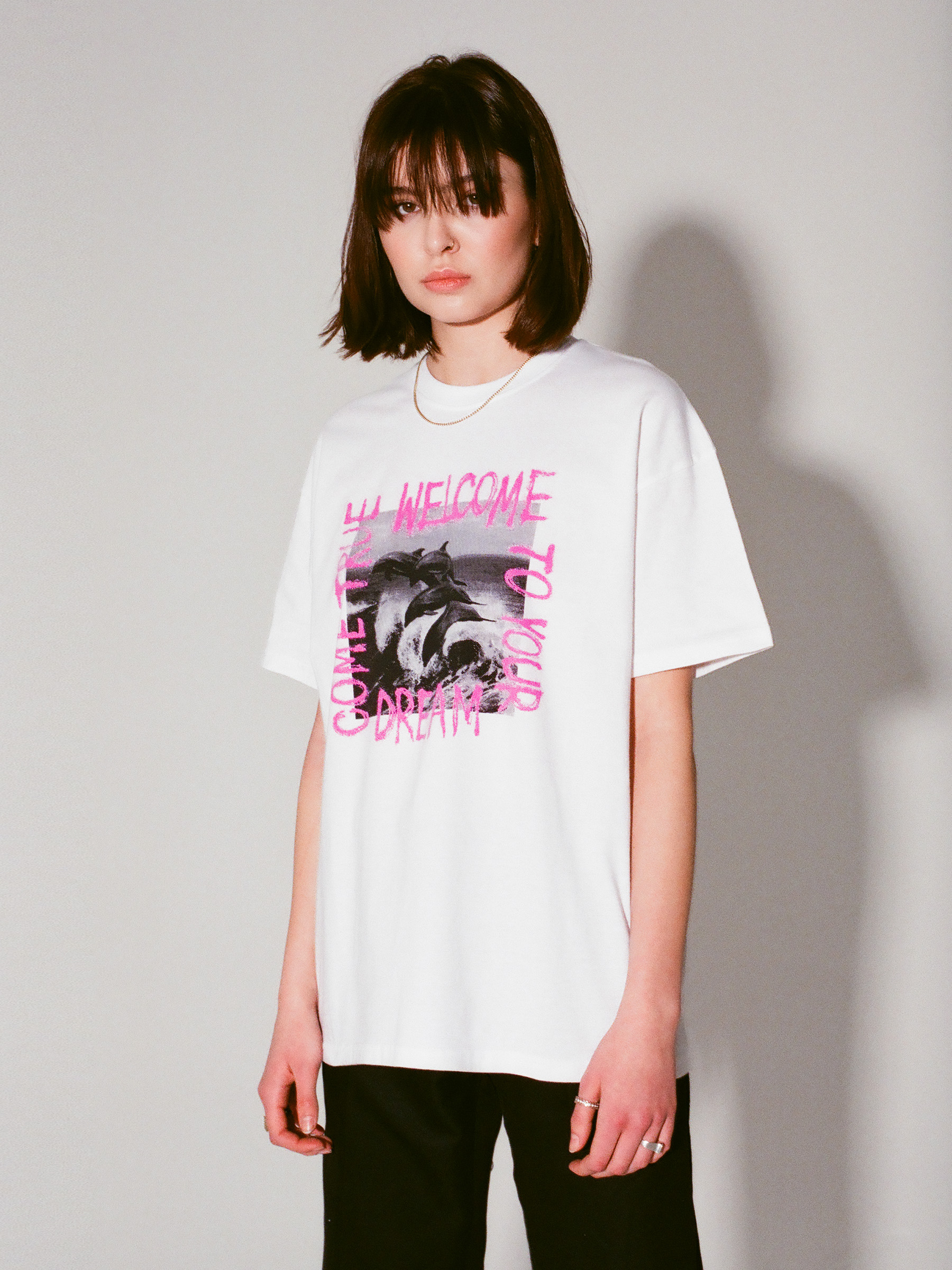 DREAM COME TRUE OVERSIZED TEE