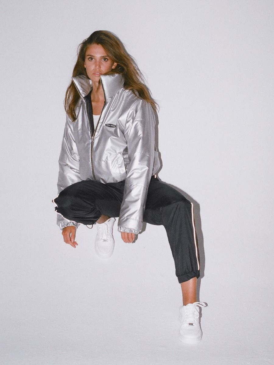 SILVER PUFF JACKET