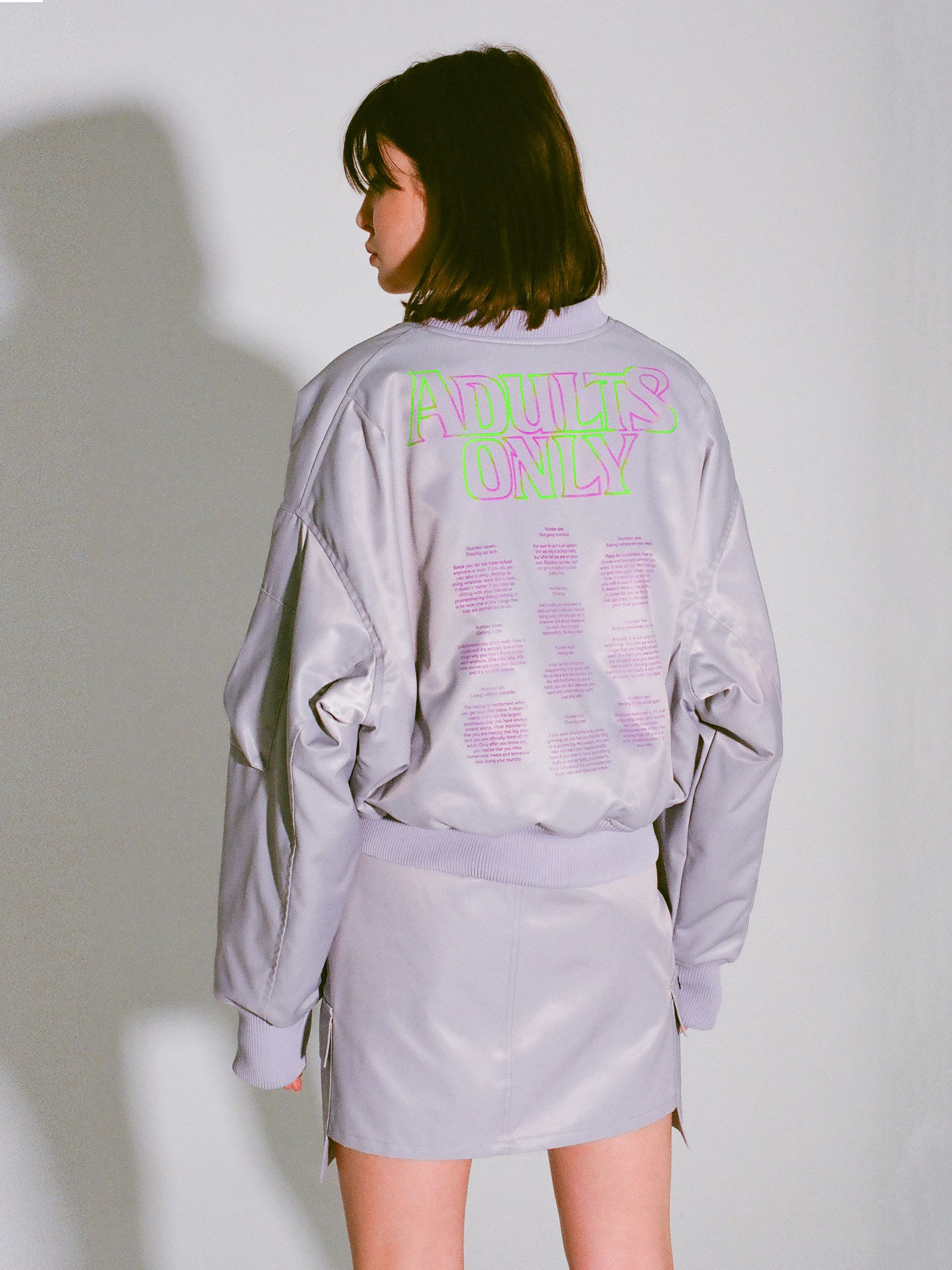 ADULTS ONLY BOMBER JACKET