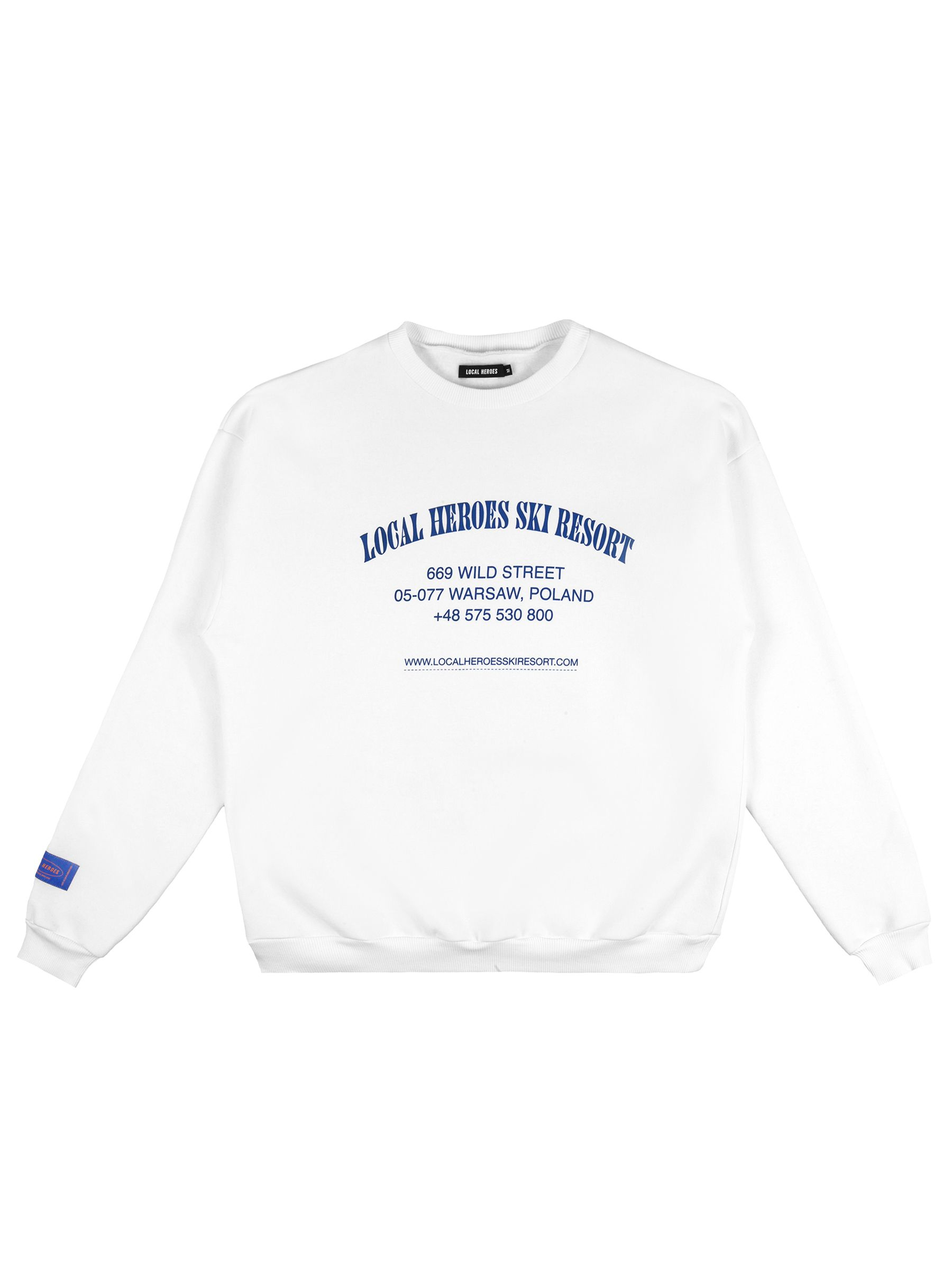SKI RESORT NAVY SWEATSHIRT