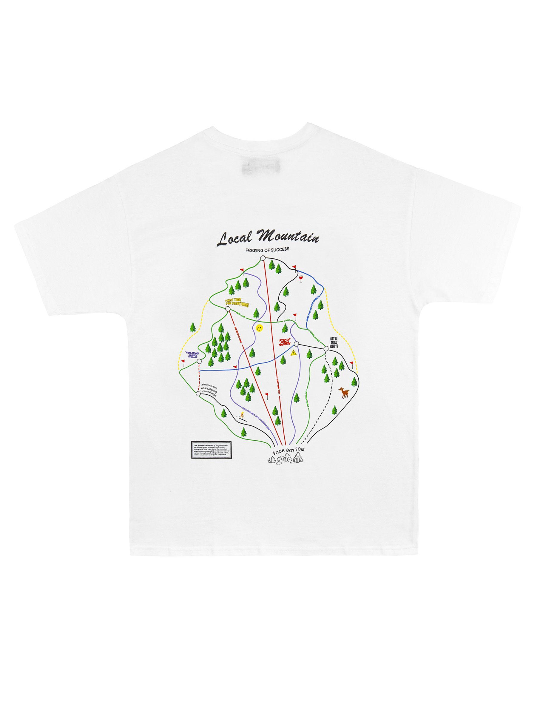 TRAIL MAP TEE
