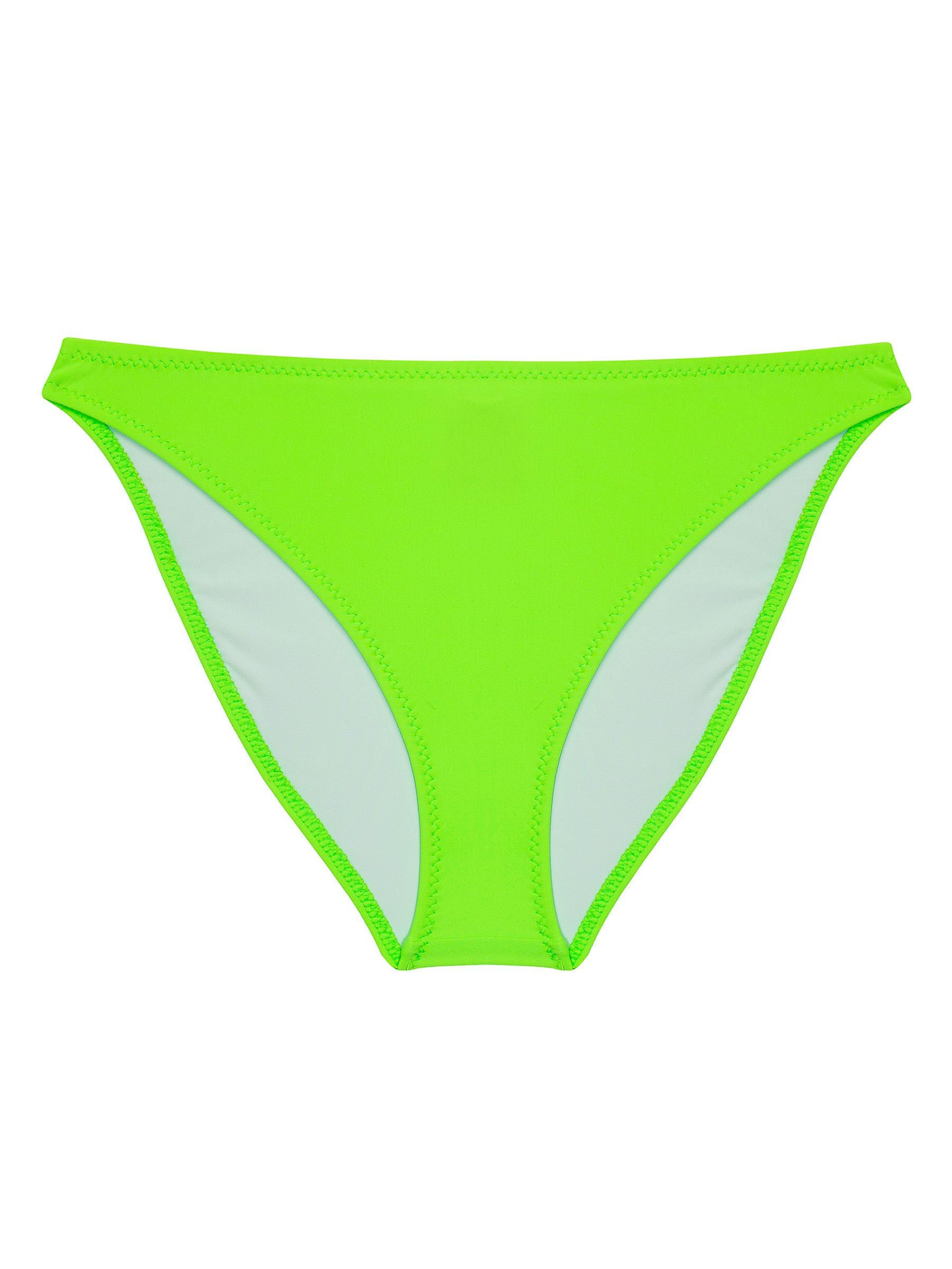 NEON GREEN BIKINI BRIEFS