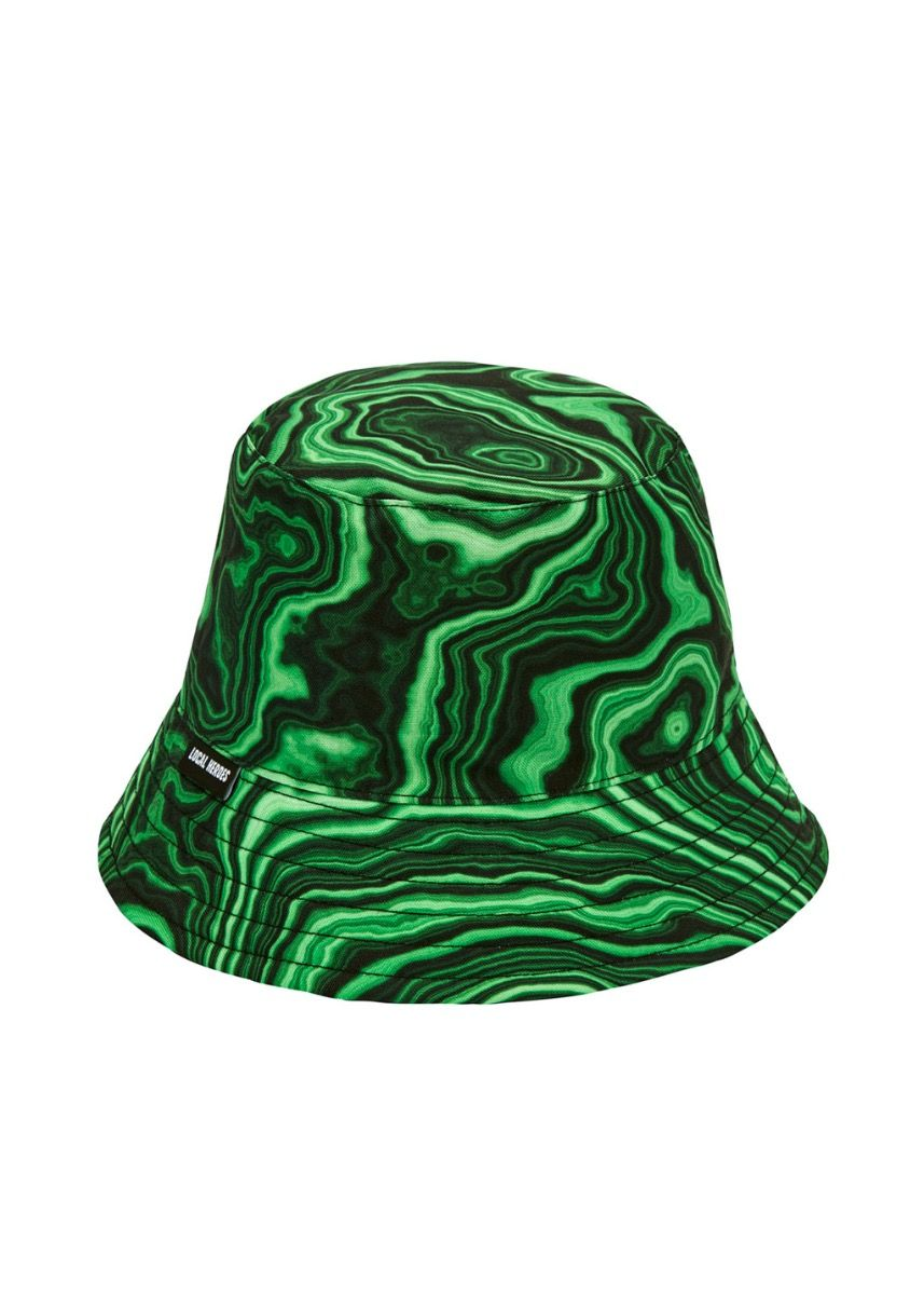 GREEN PRINTED BUCKET