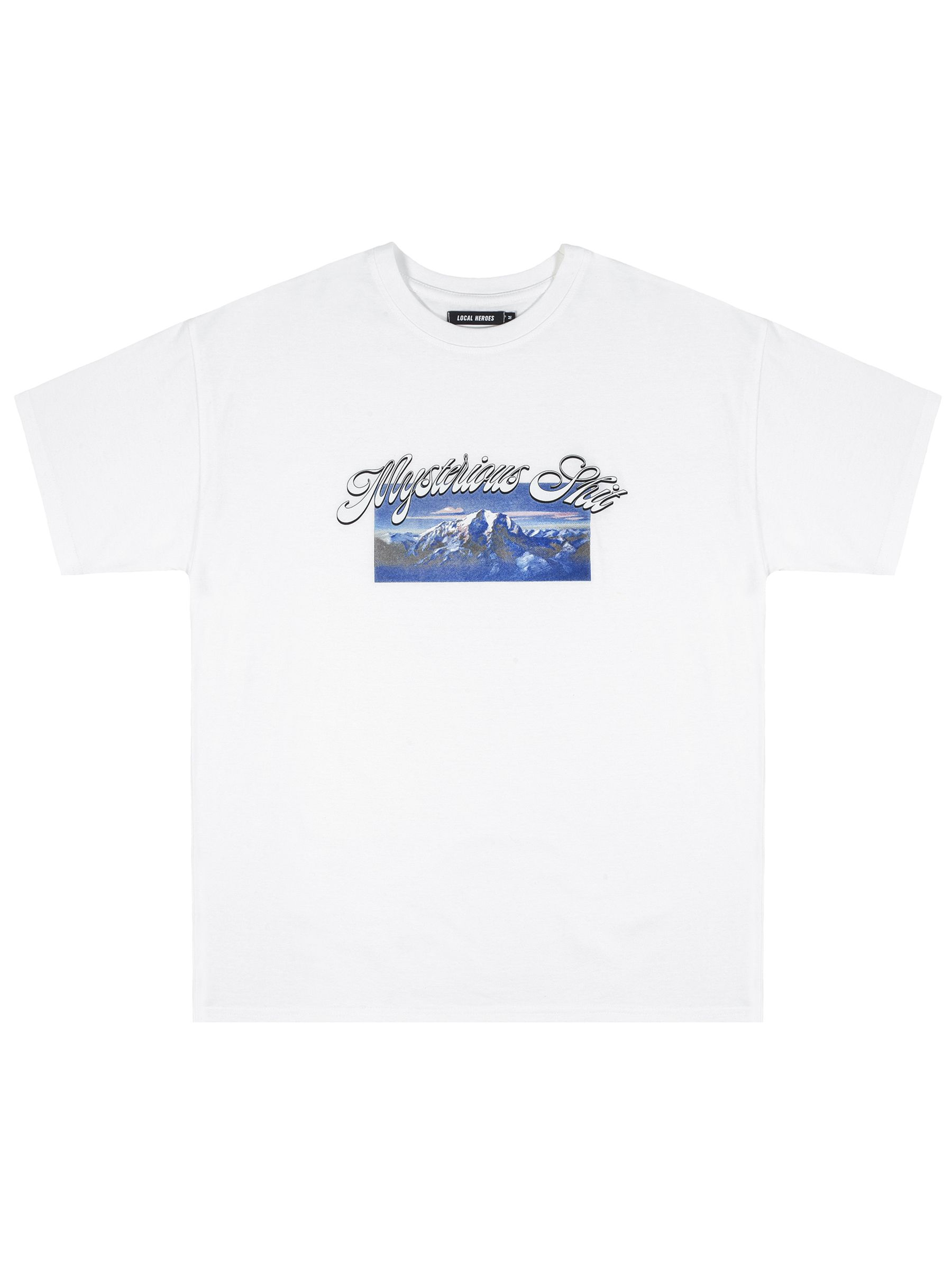 MYSTERIOUS SHIT WHITE TEE