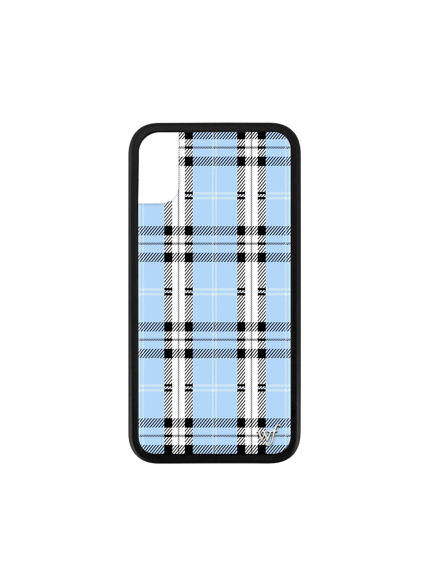 WILDFLOWER Blue Plaid Case