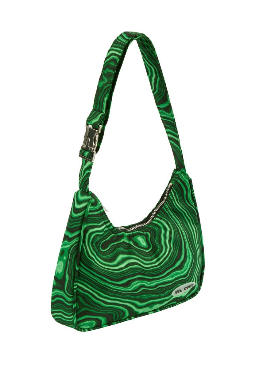 LH GREEN SHOULDER BAG