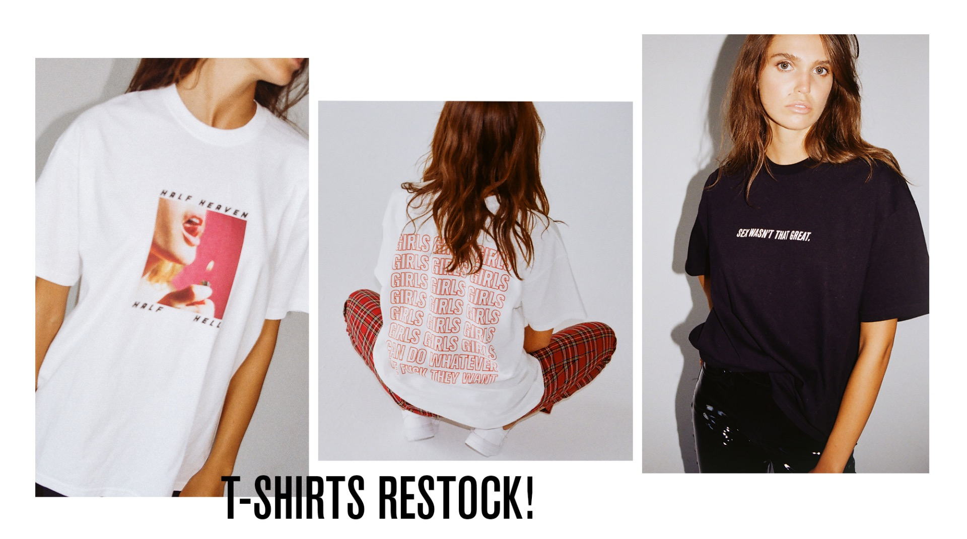 TEES ARE BACK